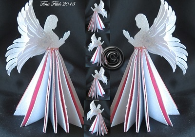 Craftrobo cameo template 3d angel table decoration for Angel tree decoration template