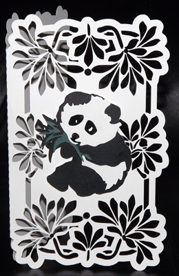 svg file template panda cut out card 2 06