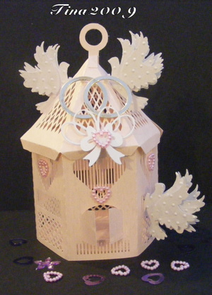Craft Robo Gsd File Template The Wedding Doves  - £3 89