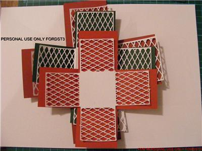 Craft Robo Gsd File Template Lacy Exploding Box - £2.40
