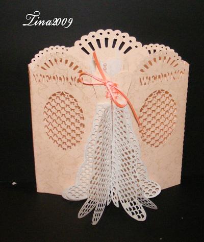 Craft Robo Gsd File Template Wedding Dress Door Card 221 – Wedding Dress Template for Cards