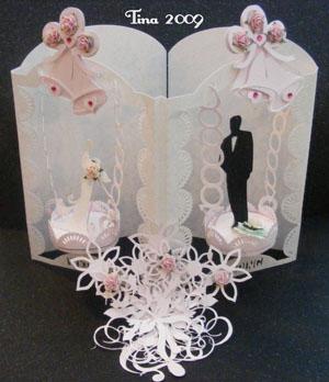 Craft Robo Gsd File Template Wedding Mobile Card - £3.58